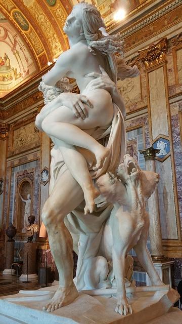 Galleria Borghesen nähtävyydet