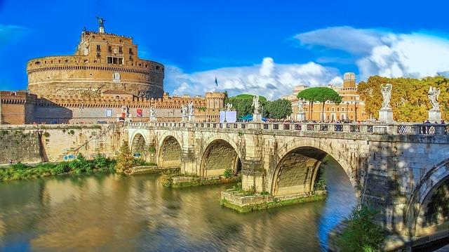 Rooman linnoitus Castel Sant'angelo